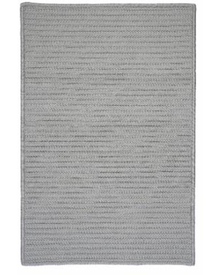 Simple Home Solid Rug, Size 2'W x 10'L in Shadow by Colonial Mills