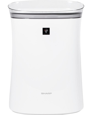 Sharp Plasmacluster Ion Air Purifier with True HEPA Filtration, White