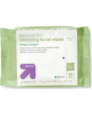 Facial Cleansing Wipes - 25ct - up & up