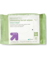 Facial Cleansing Wipes 25ct - Up&Up (Compare to Simple)