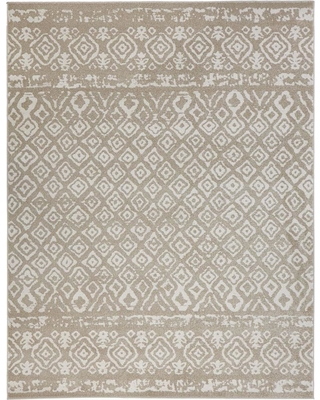 Home Decorators Collection Tribal Essence Beige 9 ft. x 13 ft. Area Rug