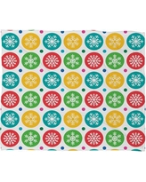 Deny Designs Andi Bird Sierra Snowflakes Plush Fleece Throw Blanket 51774-fle Size: Medium