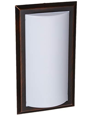 Sea Gull Lighting Generation Lighting 4933193S-710 Contemporary Modern LED SeaGull-ADA Wall Sconces collection in Bronze/Dark finish, Burnt Sienna