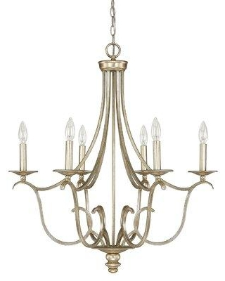 Shopping Special For House Of Hampton Cecil 6 Light Candle Style Empire Chandelier Metal In Gold Size 30 H X 27 W Wayfair Hohn8443 32661019
