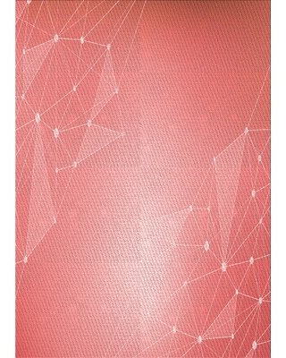 Abstract Pink Area Rug East Urban Home Rug Size: Rectangle 2' x 4'