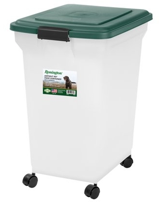 Remington 55lb Airtight Dry Dog or Cat Food Container