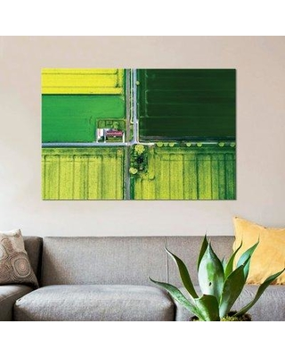 """East Urban Home 'Eye in the Sky I' Graphic Art Print on Canvas ESBH7355 Size: 18"""" H x 26"""" W x 0.75"""" D"""