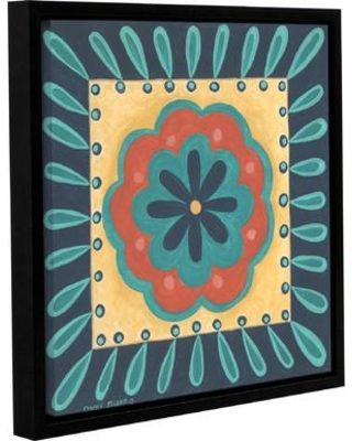 """Bungalow Rose Boho Chic 4 Framed Painting Print on Wrapped Canvas BNGL8792 Size: 14"""" H x 14"""" W x 2"""" D"""