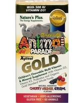 Nature's Plus Animal Parade Gold Multivitamins & Mineral-60 Chewables