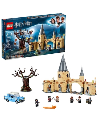 Whomping Willow Harry Potter LEGO Hogwarts Building Set
