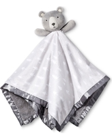 Large Security Blanket Bear - Cloud Island Gray