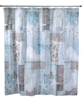 Rosecliff Heights Becard Cotton Shower Curtain ROHE7233