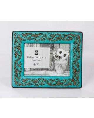 World Menagerie Ventnor Leather Scrolled Picture Frame BF107668