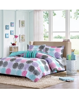 Brittany Comforter Set (Twin/Twin Extra Long) Purple - 3pc, Variation Parent