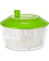 Ozeri Italian Fresca Salad Spinner and Serving Bowl Rotator SS2 Color: Green