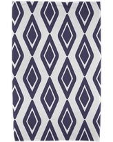 East Urban Home Upscale Getaway Diamond Jive 1 Beach Towel ESTW5572 Color: Navy Blue
