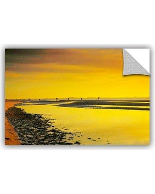 """ArtWall ArtApeelz Mellow Yellow Morning by Steve Ainsworth Photographic Print on Canvas 0ain055 Size: 16"""" H x 24"""" W x 0.1"""" D"""