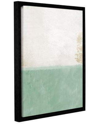 """Wrought Studio Upon Our Sights Framed Print of Painting VKGL7780 Size: 48"""" H x 36"""" W x 2"""" D"""