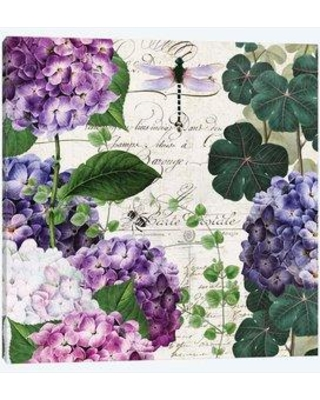 """East Urban Home 'Garden Glow II' Graphic Art Print on Wrapped Canvas EBHS1105 Size: 37"""" H x 37"""" W x 1.5"""" D"""