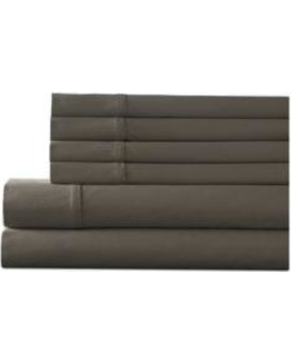 Elite Home Products Taupe Camden Solid Bonus Sheet Set