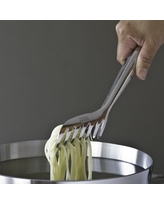Piazza Stainless-Steel Pasta Tongs