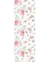 """Ophelia & Co. Weimar Removable Peonies Nursery 8.33' L x 25"""" W Peel and Stick Wallpaper Roll W000631111"""