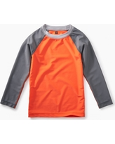 Tea Collection Long Sleeve Raglan Rash Guard
