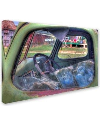 "Trademark Fine Art 'Window' Photographic Print on Wrapped Canvas ALI16234-C Size: 16"" H x 24"" W"