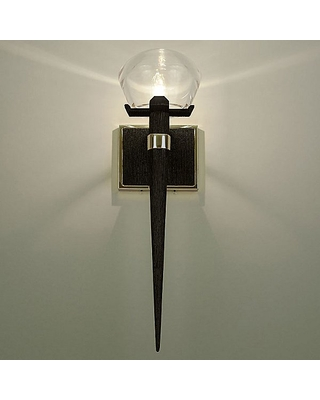 Boyd Lighting Comet Wall Sconce - Color: Clear / Brass