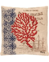 Heritage Lace Ship Throw Pillow CNW1818NA-0885