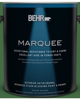 BEHR MARQUEE 1 gal. #440D-7 Vineyard Satin Enamel Exterior Paint and Primer in One