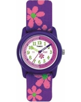 Timex Kids' Time Teacher Flowers Watch - T890229, Girl's, Size: Small, Purple