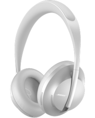 Bose Noise Cancelling Headphones 700 with Google Assistant - Silver