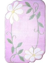 "Fun Rugs Supreme Daisy Field Pink Area Rug TSC - 224 Rug Size: 3'3"" x 4'10"""