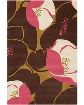 Ivy Bronx Burchell Poppy Pink Area Rug IVBX3314 Rug Size: Rectangle 5' x 7'6""