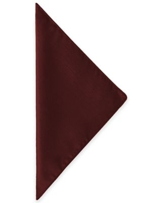 Ultimate Textile Majestic Napkins in Burgundy (Set of 4)