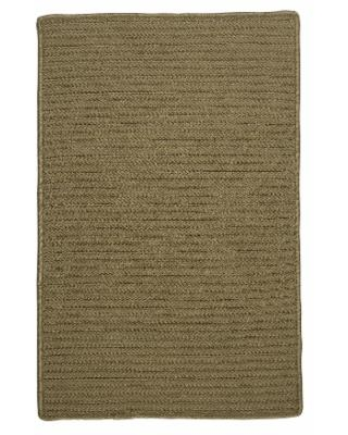 Simple Home Solid Rug, Size 6'W x 6'L in Wood by Colonial Mills