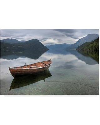 """Millwood Pines 'Mountain Rustic Norway 5' Photographic Print on Wrapped Canvas MIPN1793 Size: 30"""" H x 47"""" W x 2"""" D"""