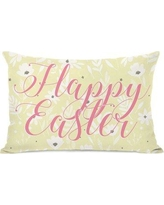 The Holiday Aisle Happy Easter Lumbar Pillow THLA1404