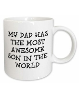 Amazing Deals On Symple Stuff Masham My Dad Has The Most Awesome Daughter In The World Coffee Mug Ceramic In Black Size 3 H X 3 W X 4 D Wayfair