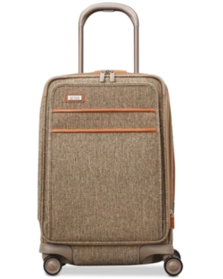 """Hartmann Tweed Legend 20"""" Global Carry-On Expandable Spinner Suitcase"""