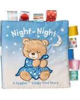 Taggies Soft Book - Starry Night Teddy - Baby Toys & Gifts for Babies - Fat Brain Toys