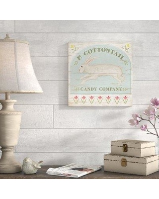 August Grove 'Cottontail' Graphic Art Print on Wrapped Canvas BF029957
