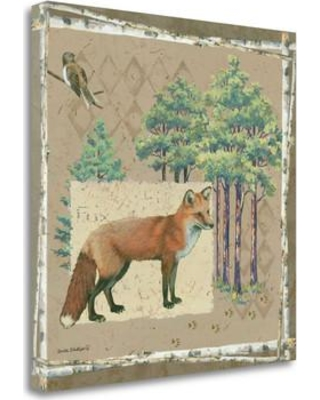 Tangletown Fine Art 'Fox' by Anita Phillips Graphic Art on Wrapped Canvas SBAP1916-2121c