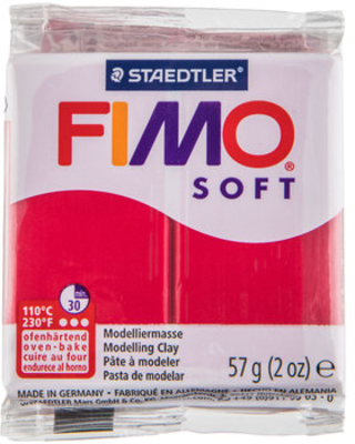 Cherry Red Fimo Soft Clay