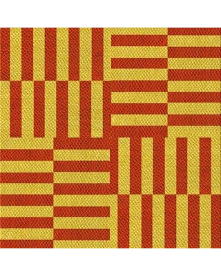 East Urban Home Wool Yellow Area Rug X112659598 Rug Size: Square 3'