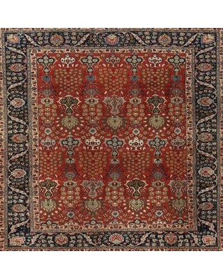 Huge Deal On Bloomsbury Market Mikolas Traditional Green Red Brown Area Rug Wool Polyester In Red Green Brown Size Square 3 Wayfair