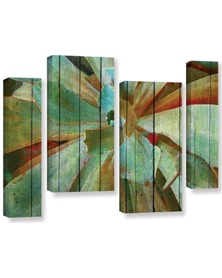 aac9dfe2057 Bay Isle Home Summer Succulent 4 Piece Painting Print on Wrapped Canvas Set  BAYI3010 Size