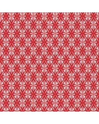 East Urban Home Wool Red Area Rug W002512333 Rug Size: Square 4'