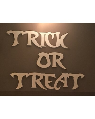 Trick or Treat Halloween Sign The Holiday Aisle®